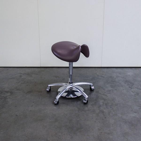 Sattelsitz-Hocker anatomisch Large for men Choco, Ausstellungsstück G52