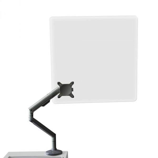 Plexiglas Arbeitsschutz für Behandlungsliegen, Silber