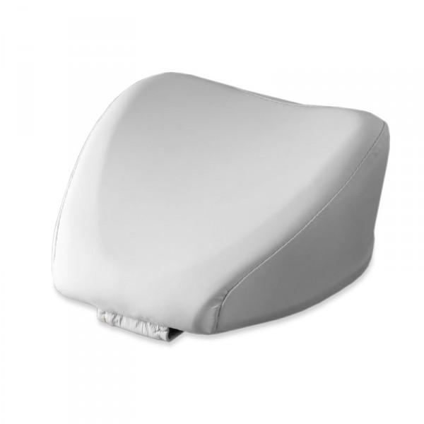 Dentalax Nackenstütze für Wellnessliegen, Weiß (PU)