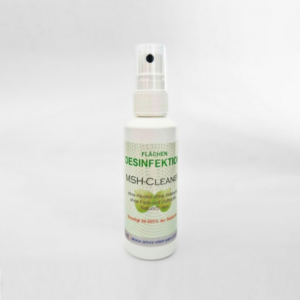 MSH Cleaner in Sprühflasche, alkoholfreie Flächendesinfektion für PU, 75ml