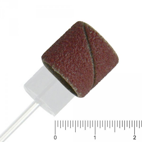 Schleifbänder klein, Ø 13mm, Grob, 10 Stück