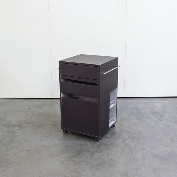 Square Trolley Noyer Clair, Ausstellungsstück DM13