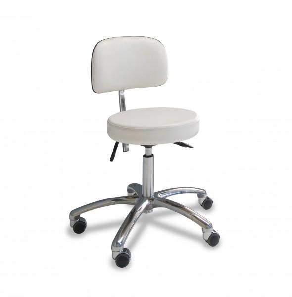 Stuhl mit rundem Sitz