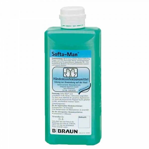 Braun Softa Man ViscoRub Händedesinfektion 500ml
