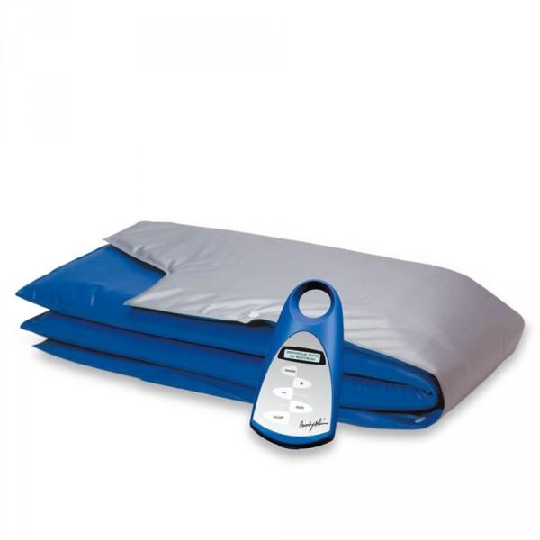 Tiefenwärmegerät BODY-SLIM mit 3 Zonenbandage Silber-Blau