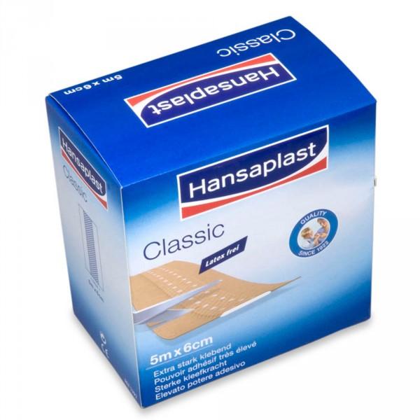 Hansaplast Classic, 6 cm x 5 m