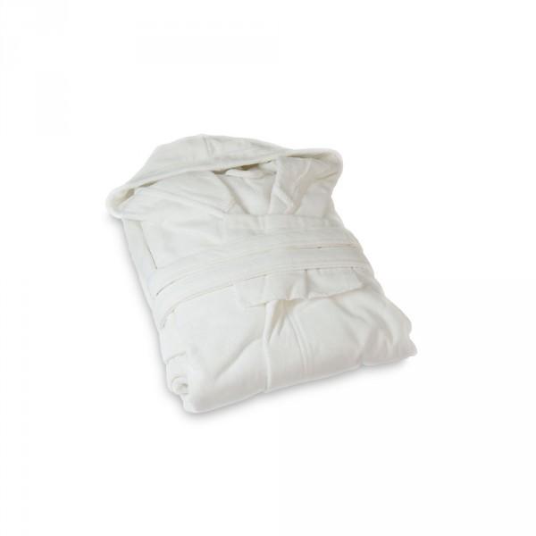 Damenbademantel, Größe L, Weiß