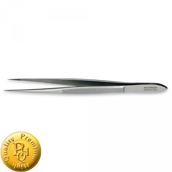 Pinzette PREMIUM 11,5cm, gerade