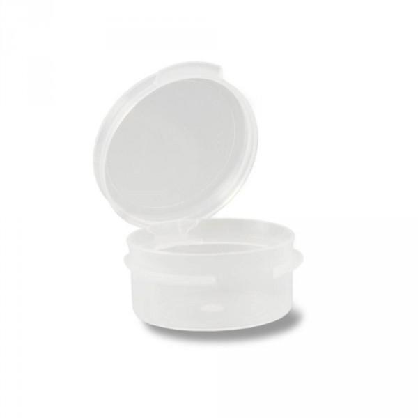 Kunststofftiegel, ca. 6-7 ml