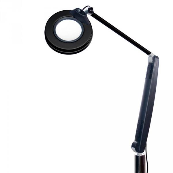 Lupenlampe De Luxe Plus Schwarz, 3,5 Dioptrien