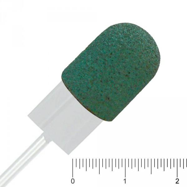 Schleifkappen grün, Ø 10 mm, Mittel, 10 Stück