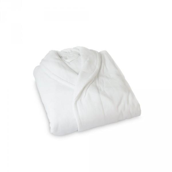 Herrenbademantel, Größe L, Weiß