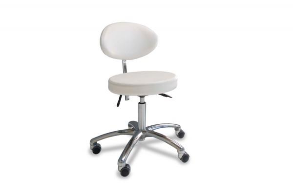 Stuhl mit ovalem Sitz