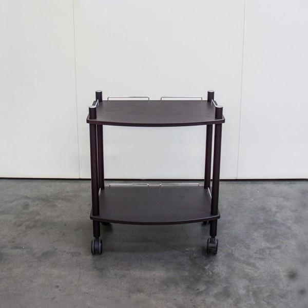 Gerätewagen Lamica 2-fach, Wenge, RAL8022, Ausstellungsstück T45