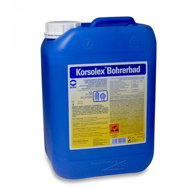 Korsolex Bohrerbad, 5000 ml