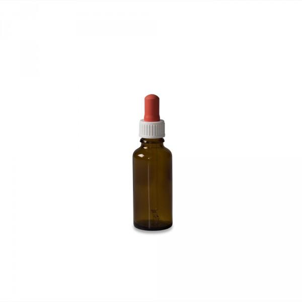 Pipettenflasche, Braunglas, 30ml