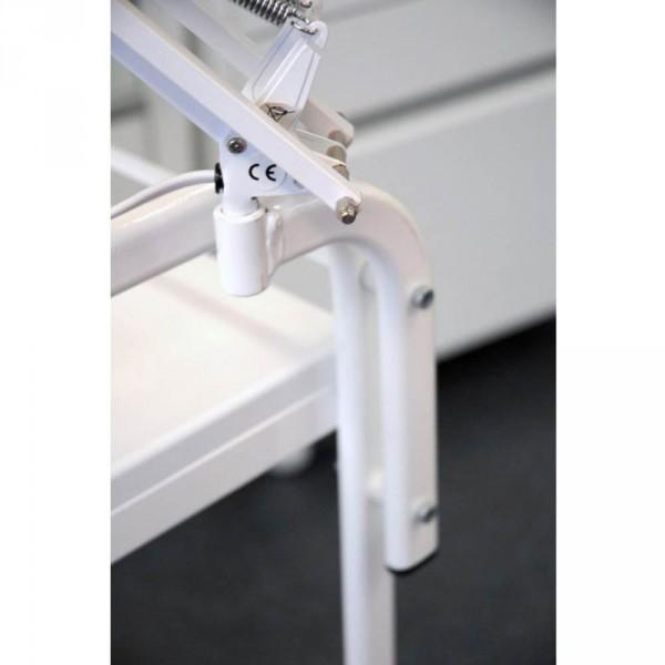 Lupenlampenhalterung für CabiLine weiß