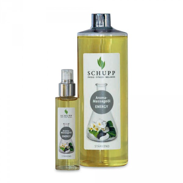 Schupp Aroma-Massageöl Energy, 500 ml