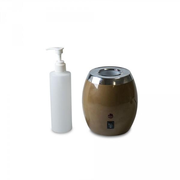 Öl Flaschenwärmer inklusive einer Flasche