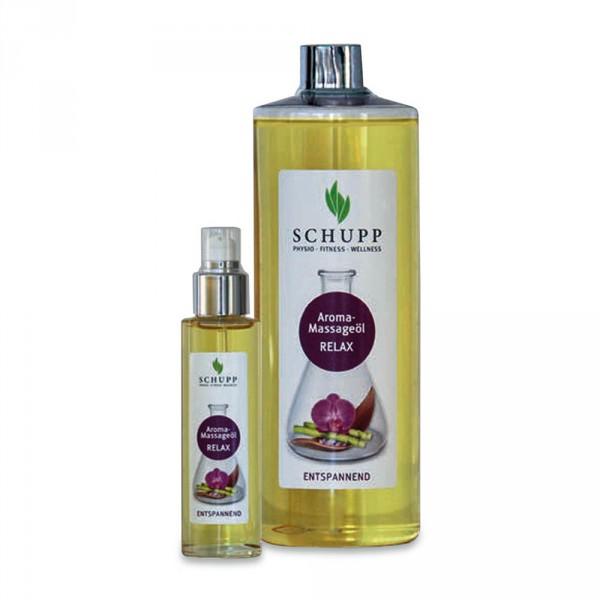 Schupp Aroma-Massageöl Relax, 500 ml