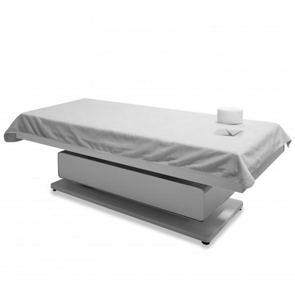 Dreamsoft Tuch mit Nasenschlitz, 110 x 230 cm, Weiß