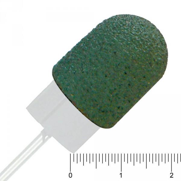 Schleifkappen grün, Ø 13 mm, Grob, 10 Stück