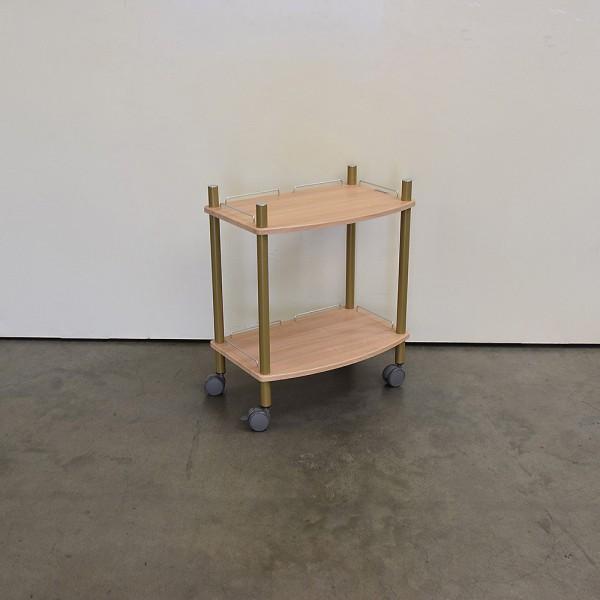 Gerätewagen Lamica 2-Fach, Chene Fence, Gold, Ausstellungsstück DM4