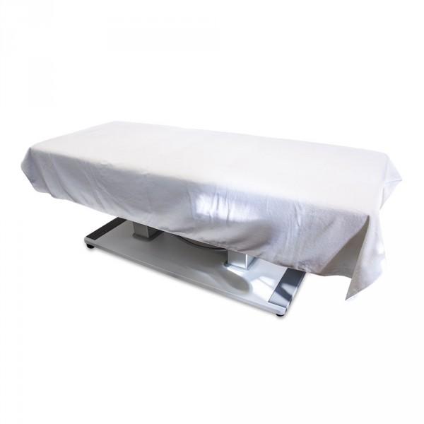 Velourstuch 150 x 230 cm, Weiß