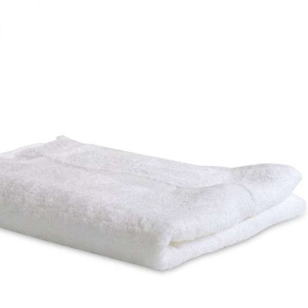 Badetuch, Weiß, ca. 100x150 cm