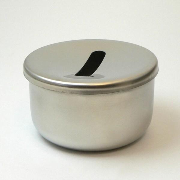 Fräserreinigungsbehälter mit Sieb, Edelstahl