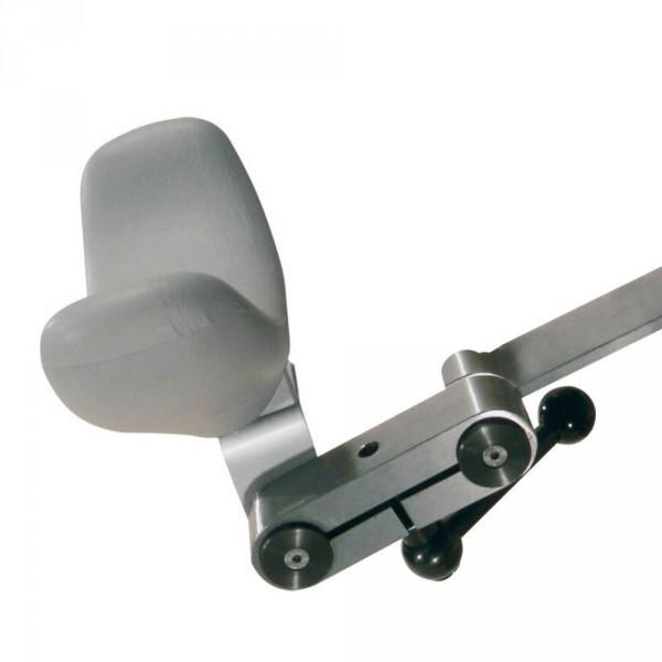 Doppelgelenkige Universalkopfstütze für SPL (ohne Polster)