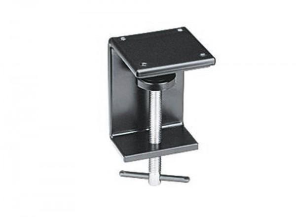 Tischklemme schwarz, für Lupenlampe Waldmann RLLQ6