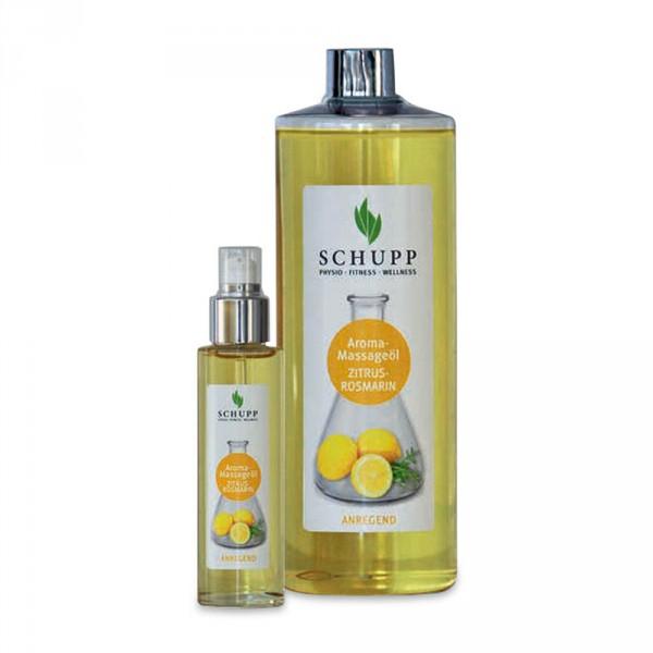 Schupp Aroma-Massageöl Zitrus-Rosmarin, 500 ml