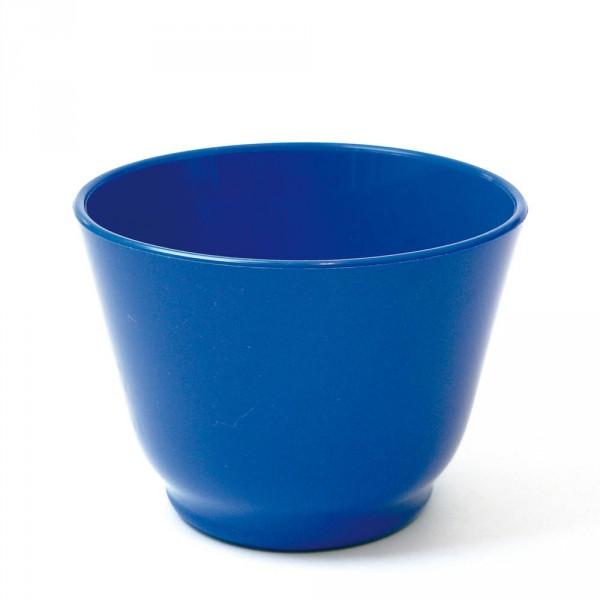 Anmischbecher für Hartgips, blau, 400 ml, Ø 12 cm