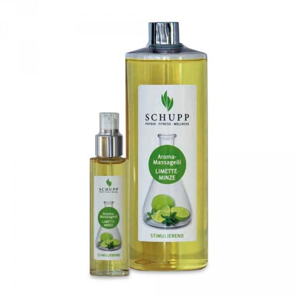 Schupp Aroma-Massageöl Limette-Minze, 500 ml