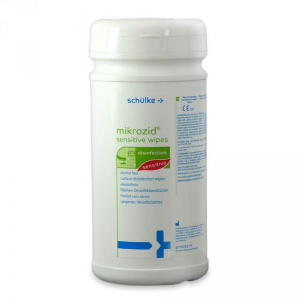 Mikrozid Sensitive Wipes, Spenderdose, 200 Tücher